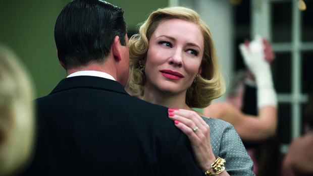 "Kyle Chandler and Cate Blanchett in ""Carol"""