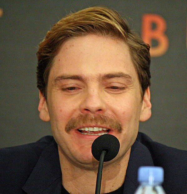 "Daniel Bruhl at the NY press conference for ""Burnt"" 