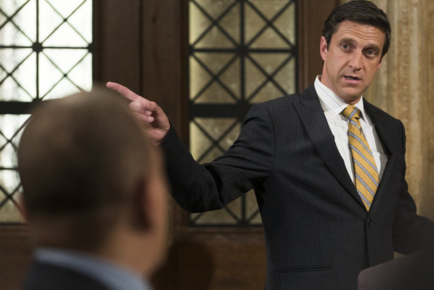 "Broadway star Raul Esparza as ADA Barba on ""Law and Order: SVU"" 