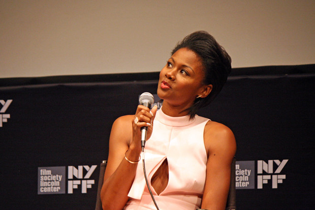 "Emayatzy Corinealdi talks about ""Miles Ahead"" at the 2015 New York Film Festival 