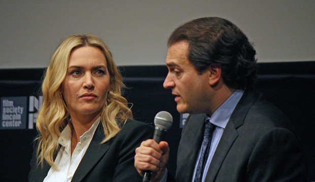 "Kate Winslet and Michael Stuhlbarg talk about ""Steve Jobs"" at the 2015 New York Film Festival 