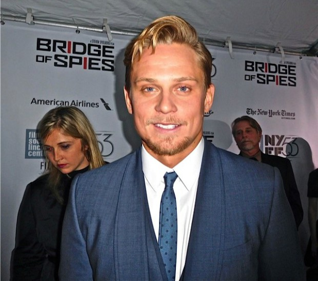 "Billy Magnussen at the NYFF premiere of ""Bridge of Spies"" 