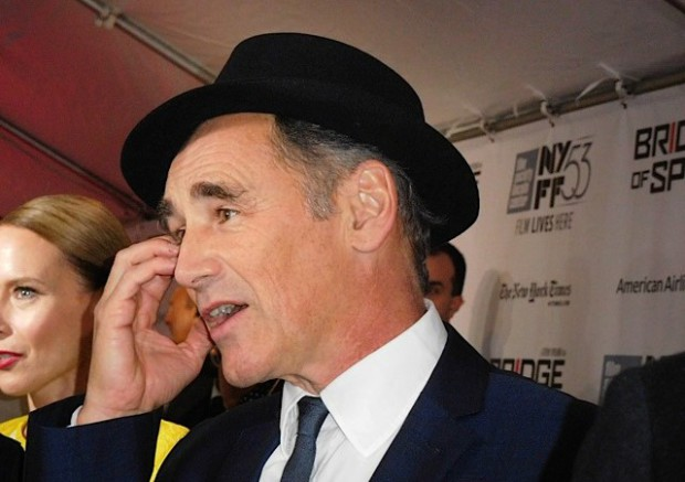 "Mark Rylance at the NYFF premiere of ""Bridge of Spies"" 