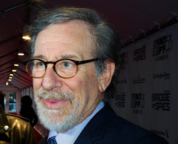 "Steve Spielberg at the NYFF premiere of ""Bridge of Spies"" 