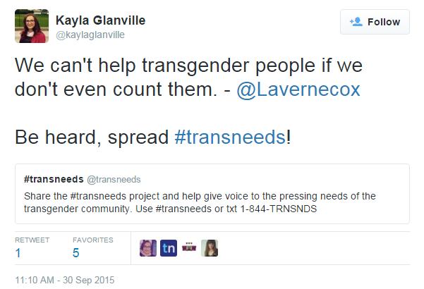 Kayla Glanville Twitter Laverne Cox