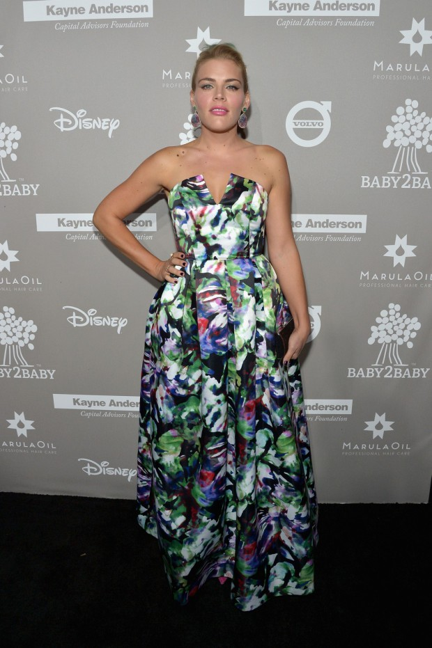 CULVER CITY, CA - NOVEMBER 14: Actress Busy Philipps attends the 2015 Baby2Baby Gala presented by MarulaOil & Kayne Capital Advisors Foundation honoring Kerry Washington at 3LABS on November 14, 2015 in Culver City, California. (Photo by Charley Gallay/Getty Images for Baby2Baby)