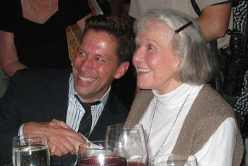 Scott Dreier and Doris Day at her 90th Birthday Party in 2014