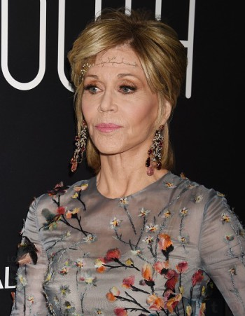 Actress Jane Fonda attends the premiere of Fox Searchlight Pictures' 'Youth' at DGA Theater on November 17, 2015 in Los Angeles, California.(Photo by Jeffrey Mayer/WireImage)