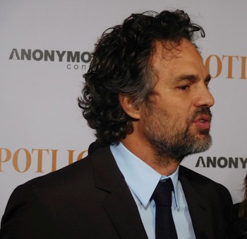 "Mark Ruffalo at the NY Premiere of ""Spotlight"" 