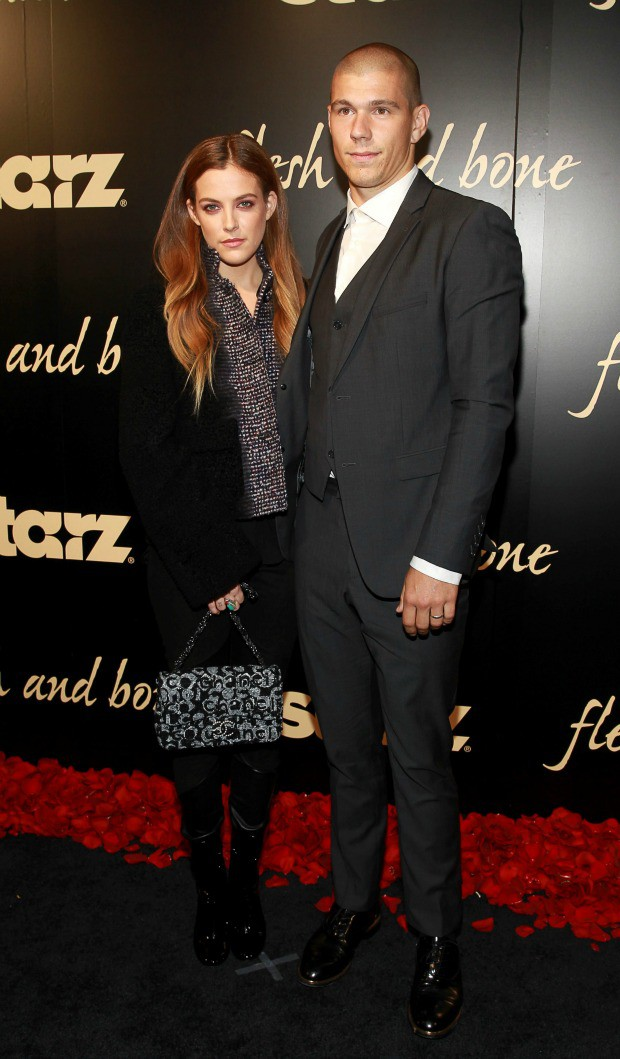 """Riley Keough, Elvis Presley's granddaughter, at the premiere of """"Flesh and Bone"""" 