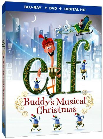 elf buddys musical christmas box