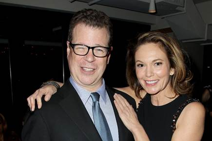 "John McNamara and Diane Lane at the ""Trumbo"" premiere 