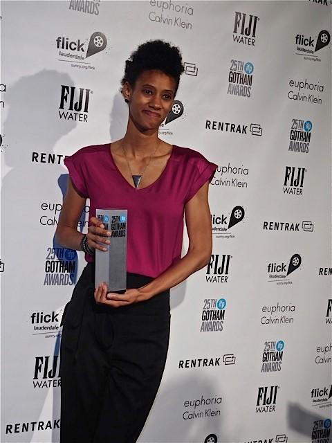 Chanelle Aponte at the 2015 Gotham Awards | Paula Schwartz Photo