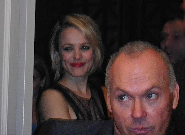 Rachel McAdams and Micheal Keaton at the 2015 Gotham Awards | Paula Schwartz Photo