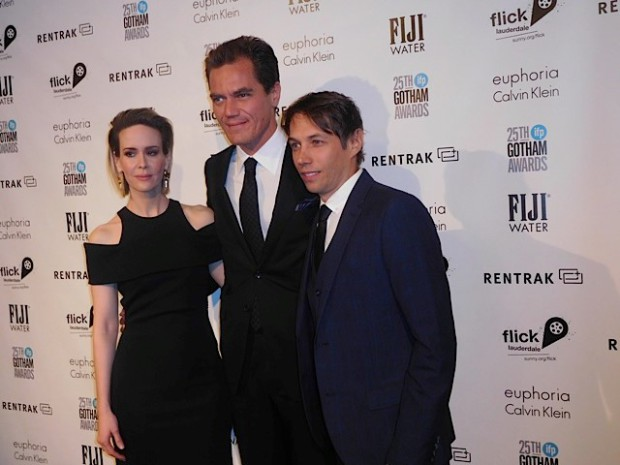 Sarah Paulson, Michael Shannon and Sean Baker at the 2015 Gotham Awards | Paula Schwartz Photo