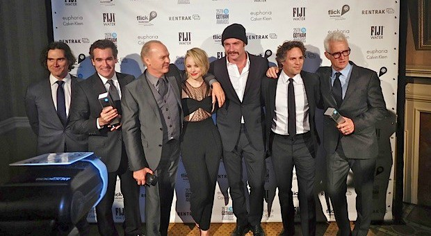"The cast of ""Spotlight"" at the 2015 Gotham Awards 