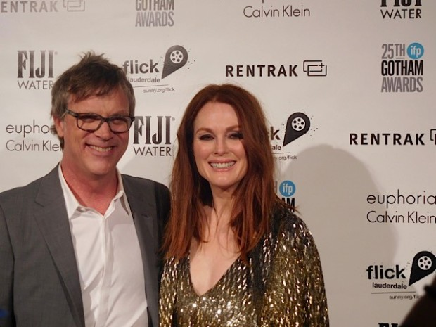 Todd Haynes and Julianne Moore at the 2015 Gotham Awards | Paula Schwartz Photo