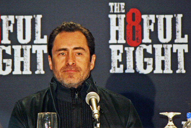 "Demian Bichir at the New York press conference for ""The Hateful Eight"" 