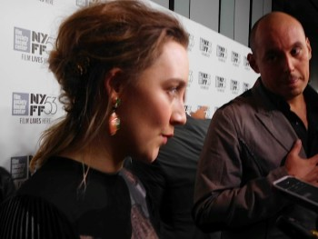 "Saoirse Ronan, star of ""Brooklyn"" | Paula Schwartz Photo"