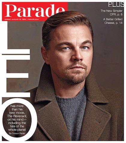 Leonardo DiCaprio Parade 2016 2
