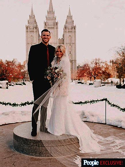 Witney Carson Wedding Dress
