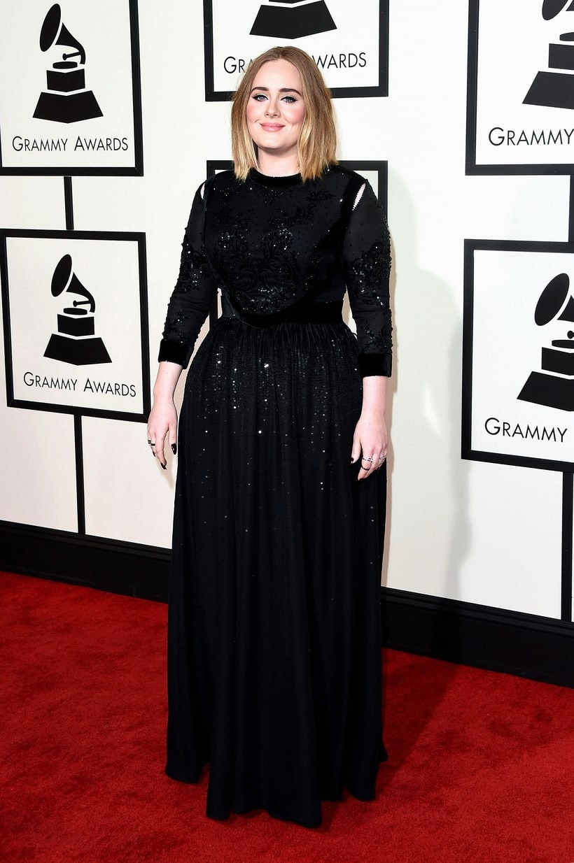 Adele, 2016 Grammy Awards, Red Carpet