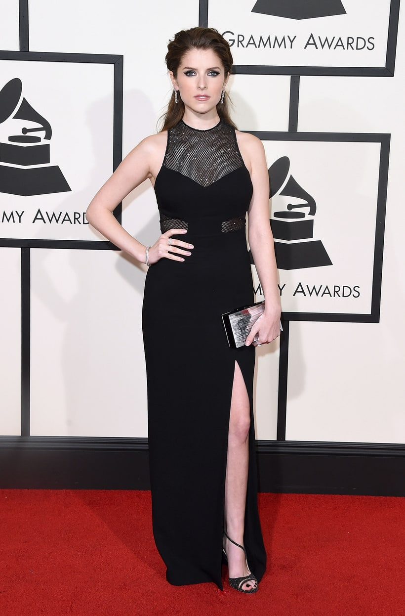 Anna Kendrick, 2016 Grammy Awards, Red Carpet
