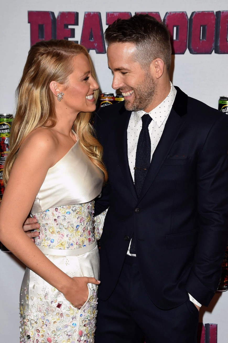 Blake Lively, Ryan Reynolds, Deadpool, Red Carpet