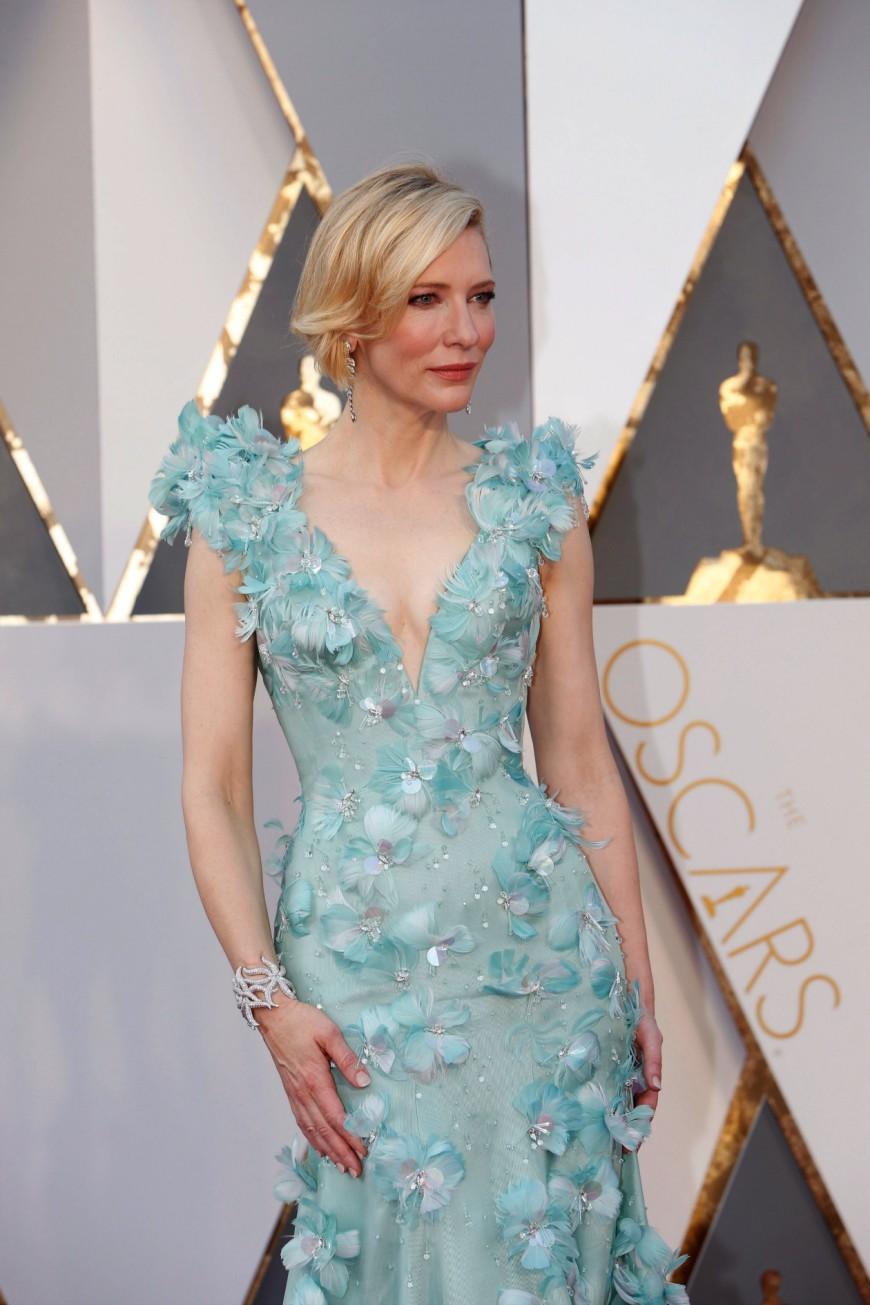 Cate Blanchett, Armani Privé, Academy Awards 2016