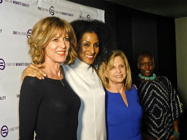 Christine Lahti, Sarah Jones, Carolyn Maloney, Agunda Okeyo
