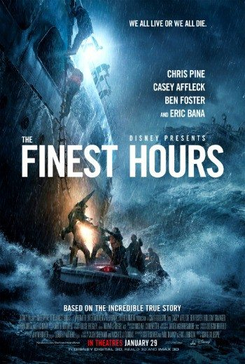 Chris Pine, Casey Affleck and Holliday Grainger star in The Finest Hours