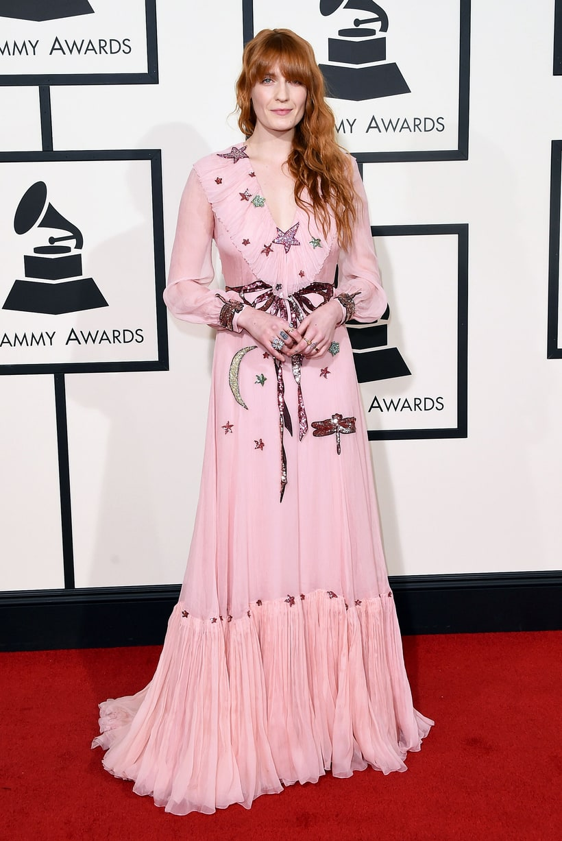 Florence Welch, 2016 Grammy Awards, Red Carpet