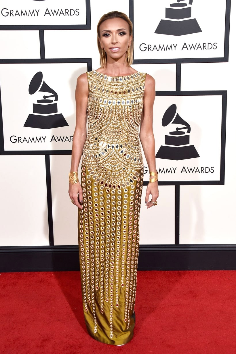 Giuliana Rancic, 2016 Grammy Awards, Red Carpet