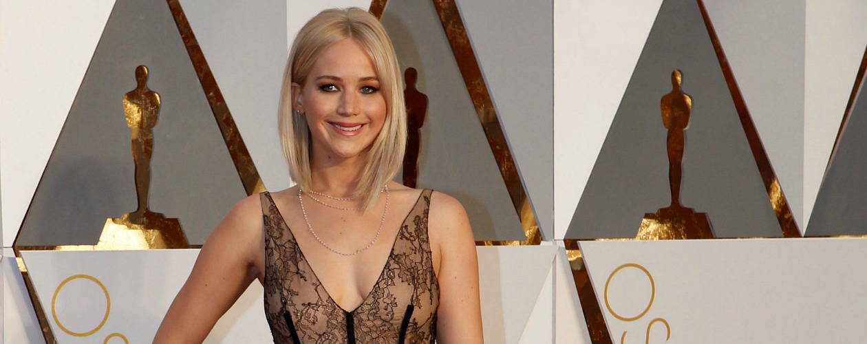 Jennifer Lawrence, Dior Haute Couture, Oscars 2016