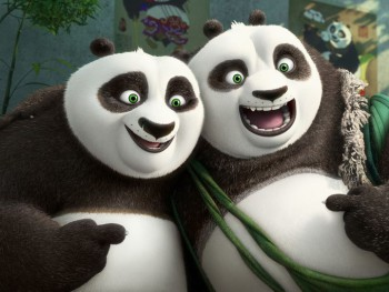 Kung Fu Panda 3 Starring Jack Black is a Cute Family Movie