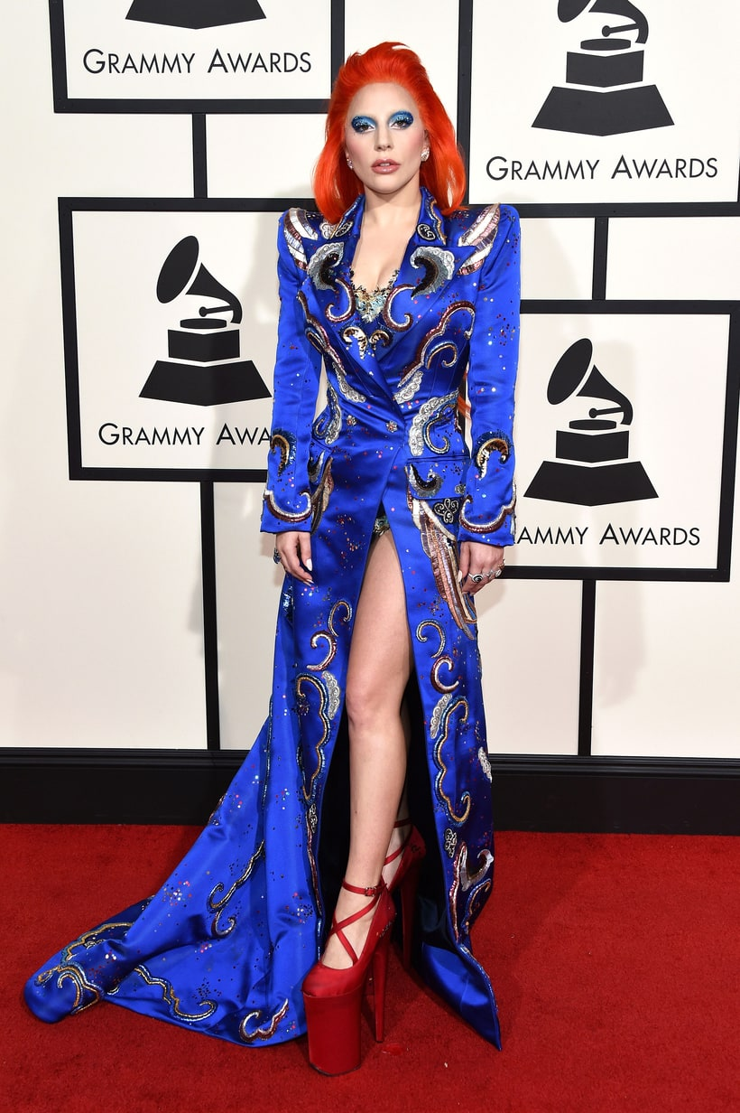 Lady Gaga, David Bowie, 2016 Grammy Awards