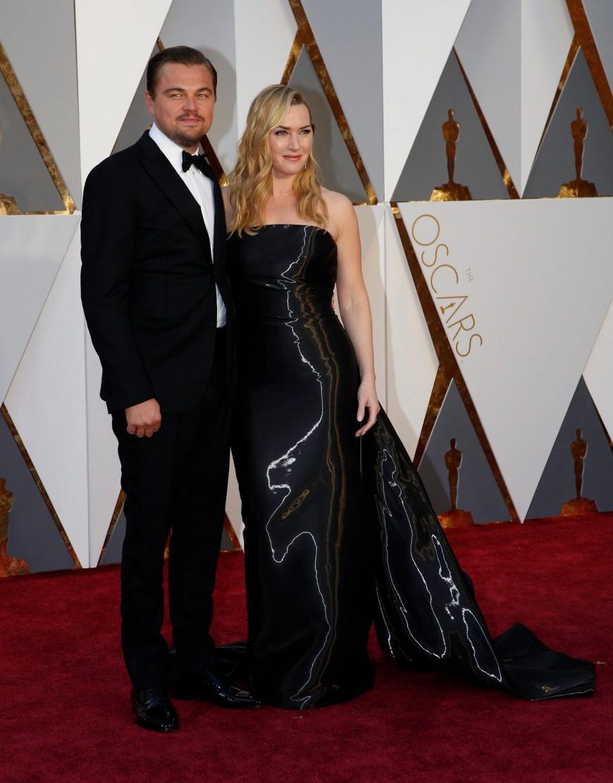 Leonardo DiCaprio, Kate Winslet, Oscars 2016