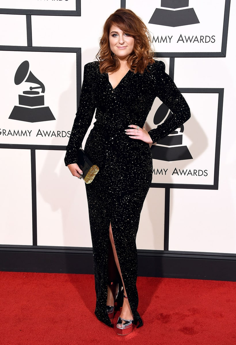 Meghan Trainor, 2016 Grammy Awards, Red Carpet