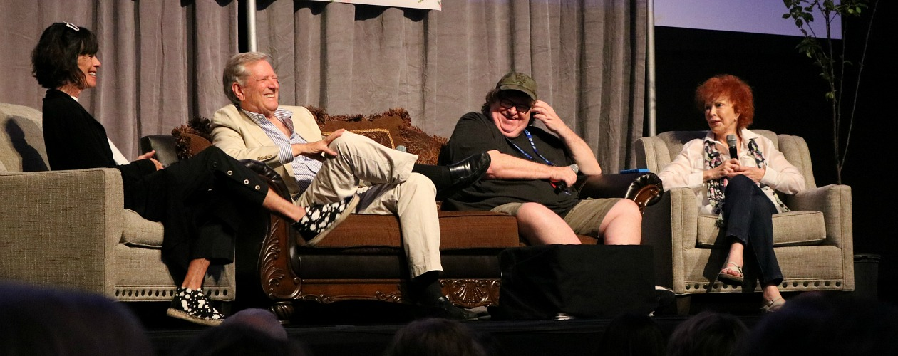 Michael Moore and Guests at the 2015 Traverse City Film Festival