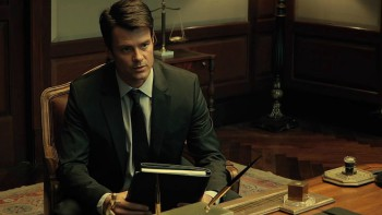 Josh Duhamel Stars in Misconduct
