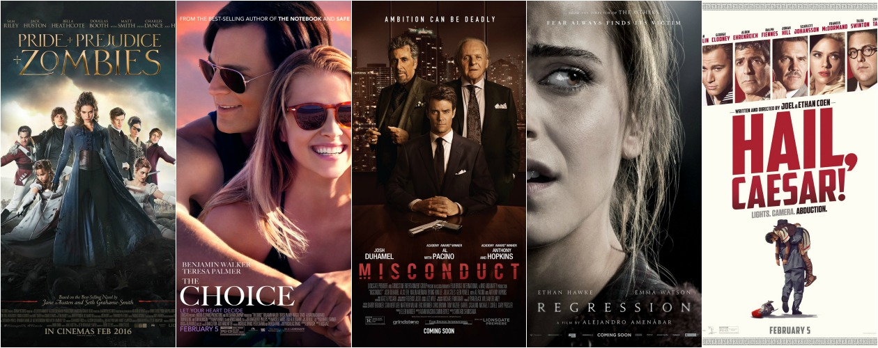 New Movies in Theaters Feb. 5, 2016