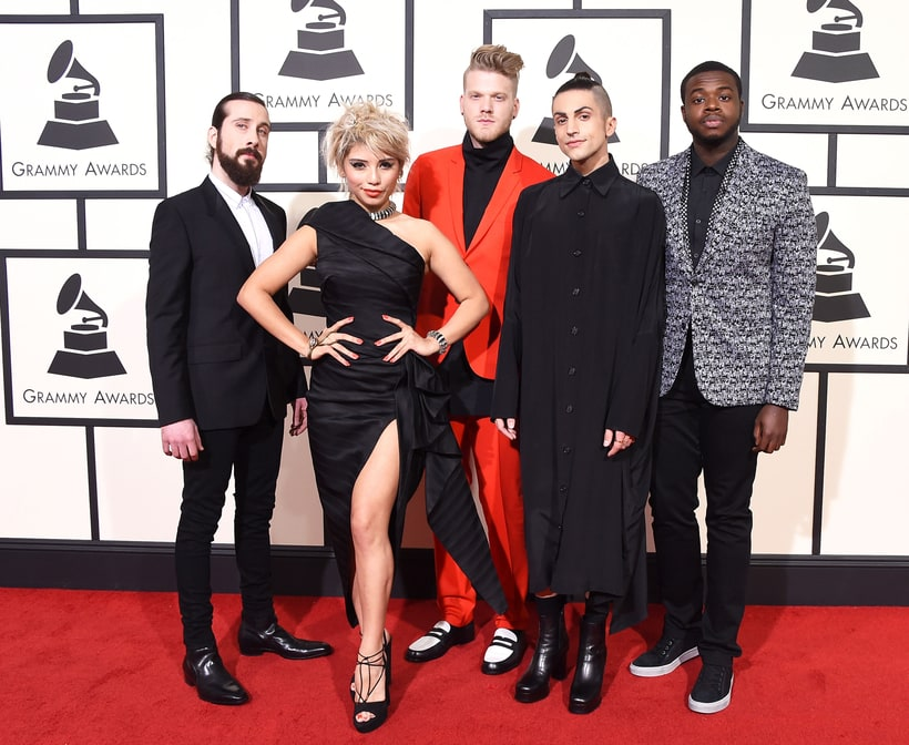Pentatonix, 2016 Grammys, Red Carpet
