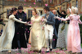Lily James Stars in Pride and Prejudice and Zombies