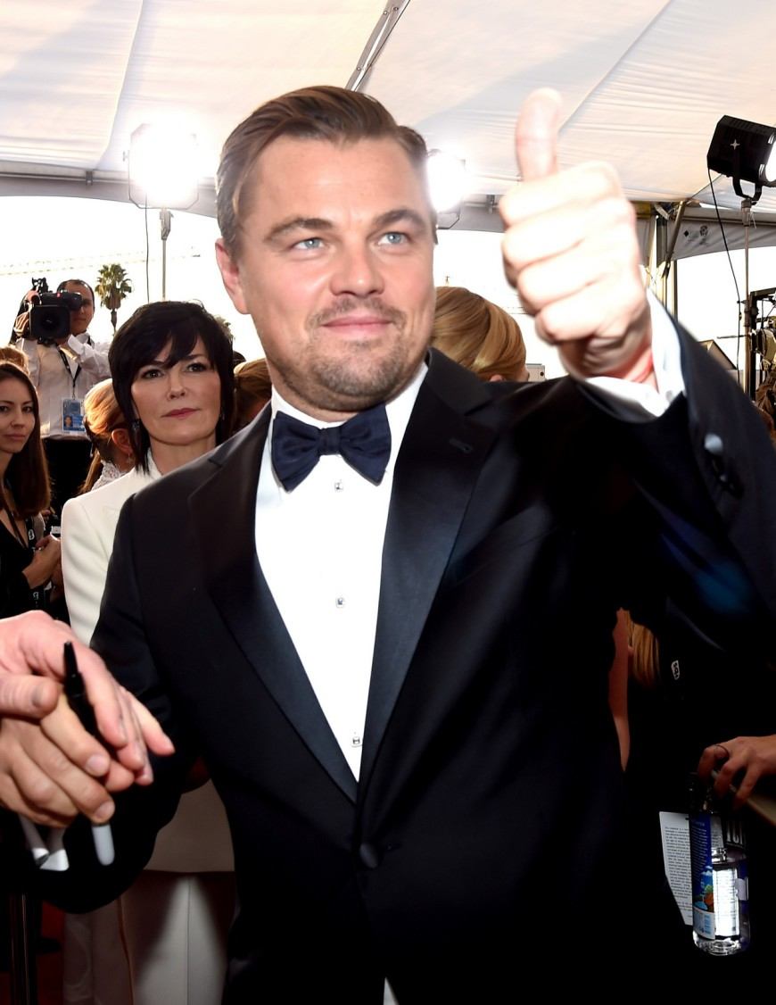 SAG Awards 2016 Leonardo DiCaprio