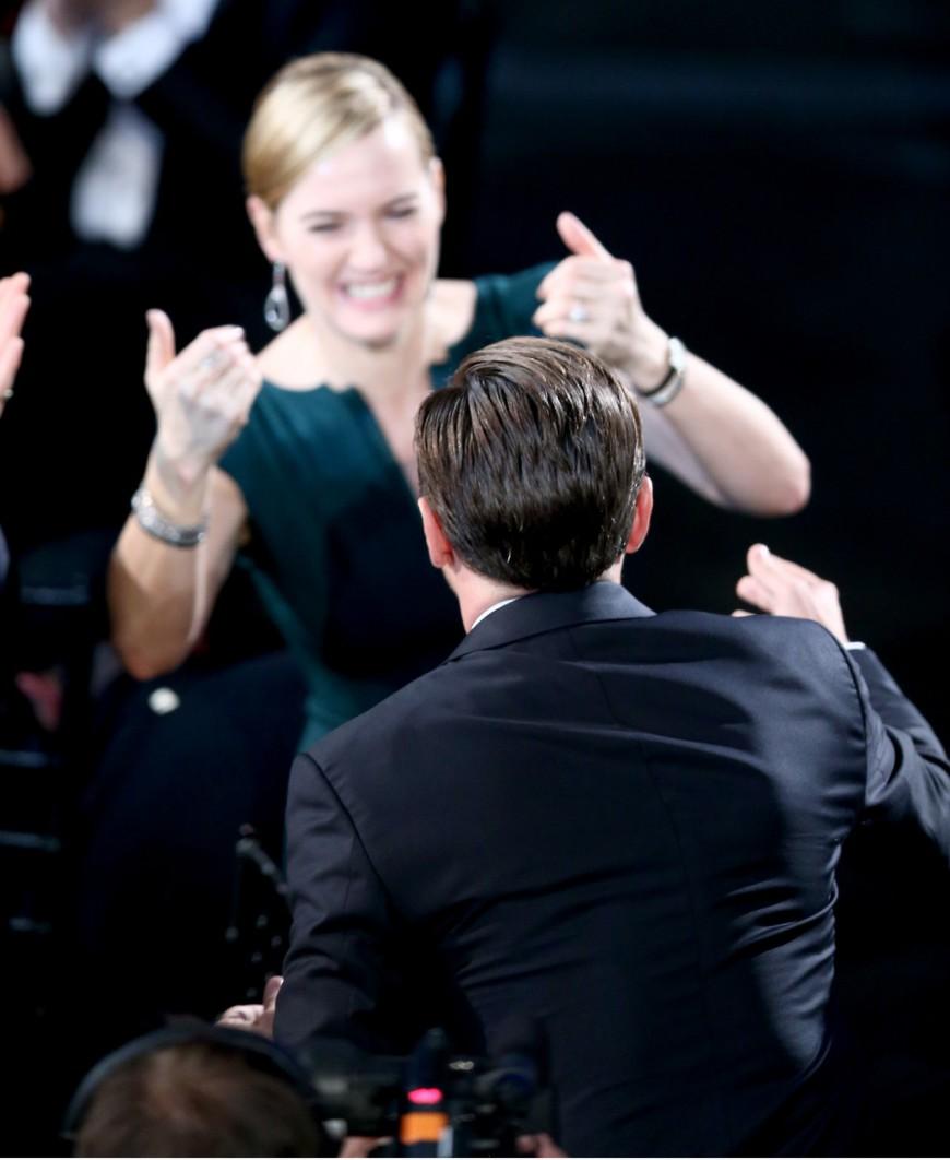 SAG Awards 2016 Leonardo DiCaprio Kate Winslet