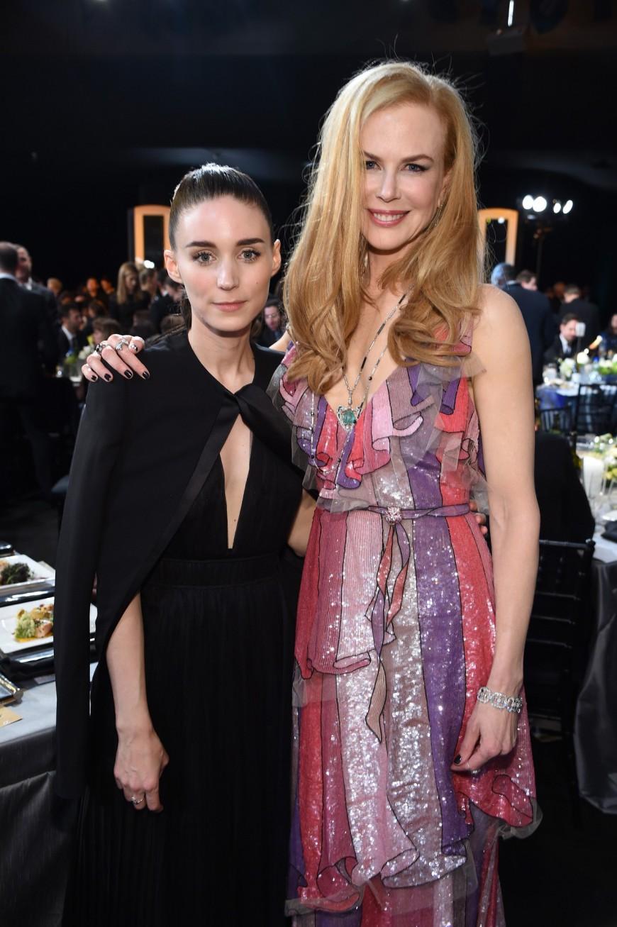Nicole Kidman, Rooney Mara, SAG Awards 2016