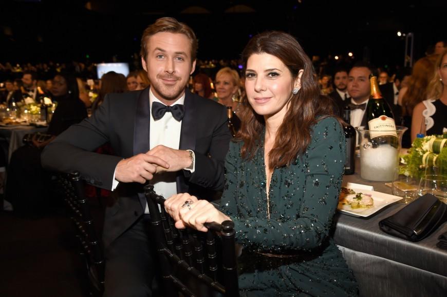 SAG Awards 2016 Ryan Gosling Marisa Tomei