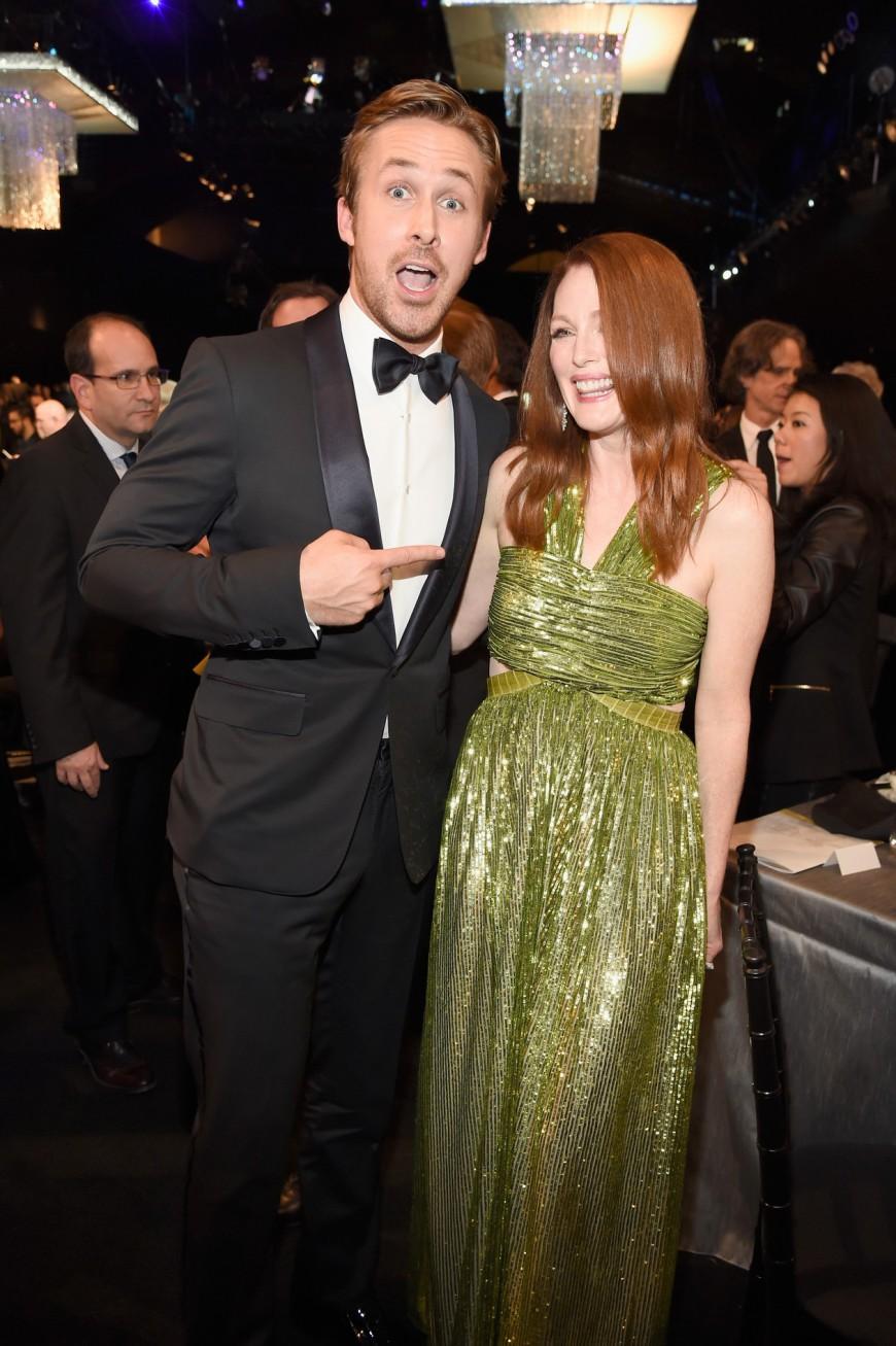 SAG Awards 2016 Ryan Gosling Julianne Moore