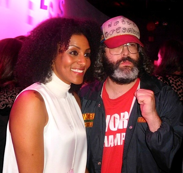 Sarah Jones, Judah Friedlander