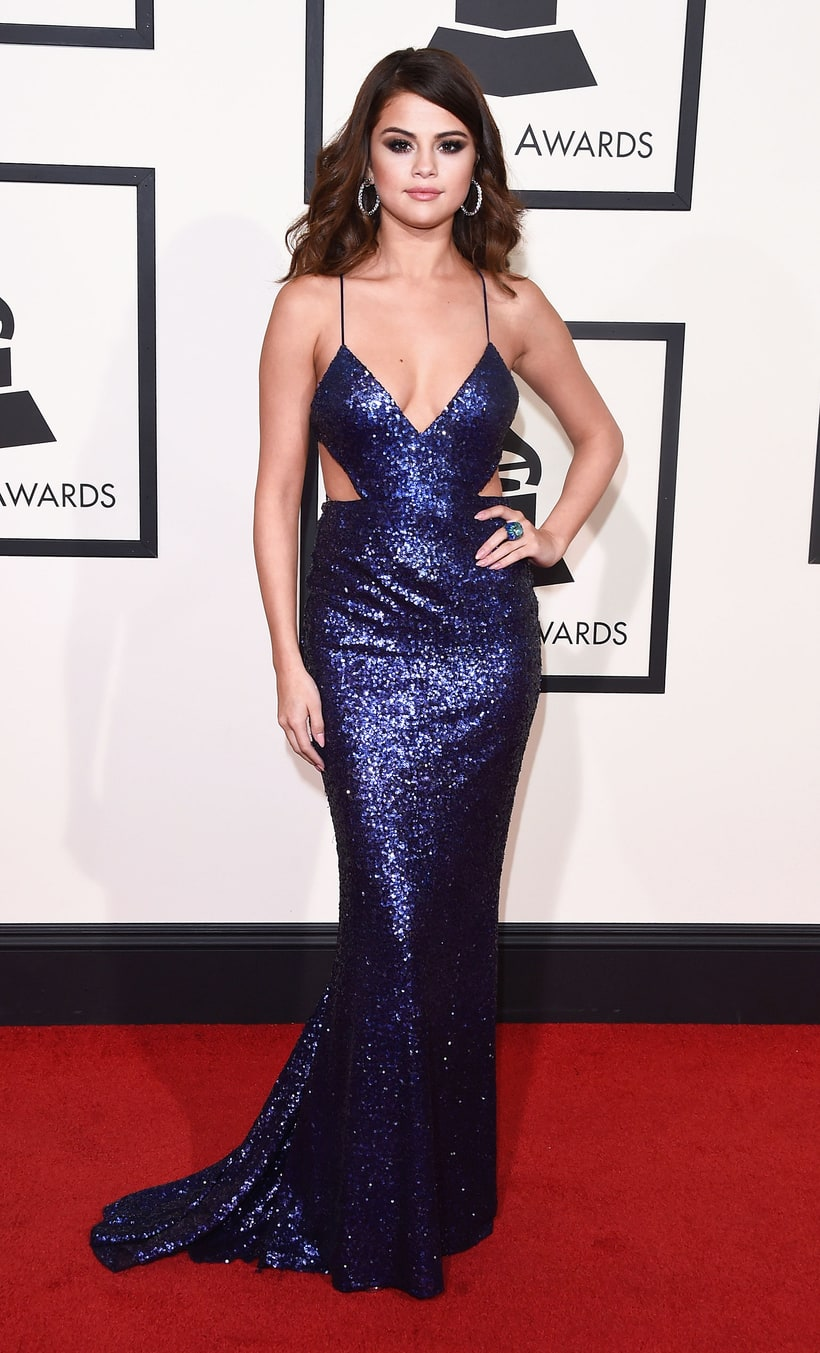 Selena Gomez, 2016 Grammys, Red Carpet